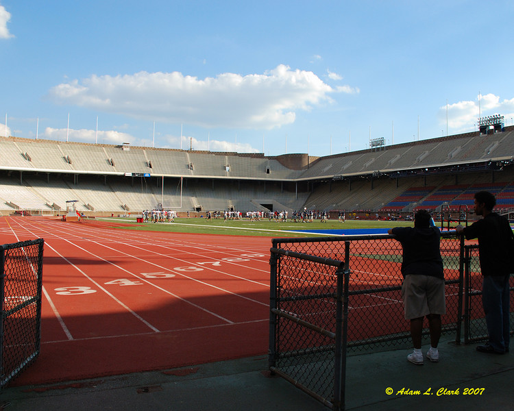 Franklin Field at UPenn.