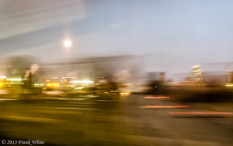Refineries at dusk, near Philadelphia PA