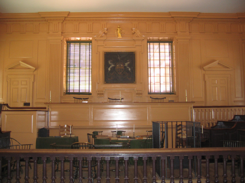 Pennsylvania Supreme Court in Independence Hall