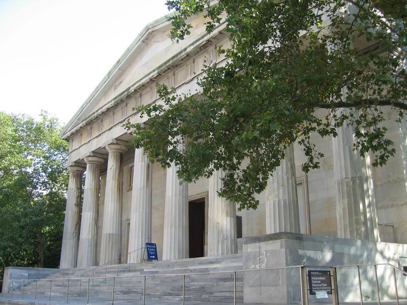 Portrait Museum in former bank