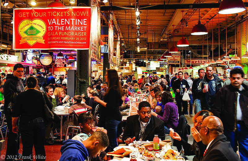 The best food court in Philadelphia!