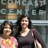 Outside Comcast center - Mandar's office