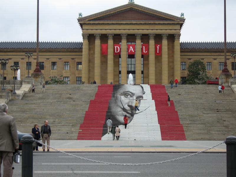 Dali at the Philadelphia Muesum of Art