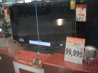 $2,500 U.S.    40 pesos = $1 U.S. dollar  11.22.15 Sony Bravia KDL-26S2000 26-Inch Flat Panel LCD HDTV  1 used from $1,197.68 http://www.amazon.com/Sony-Bravia-KDL-26S2000-26-Inch-Panel/dp/B000EOWRIA   https://salphotobiz.smugmug.com/Other/Philippine-Spanish-Influence/i-2bsRmD6/A