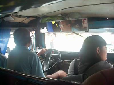 Riding the Jeepney...