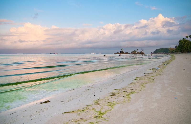 Sunrise at the Beach2<br /> Boracay Beach<br /> Philippines