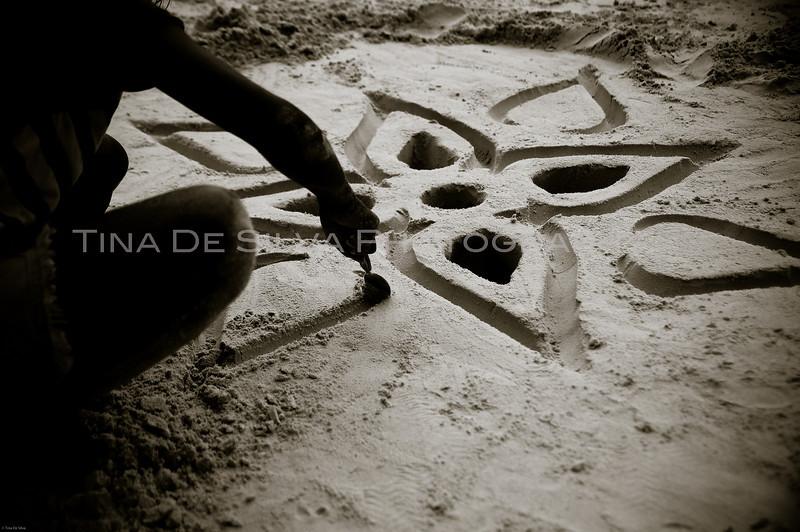 Sand Creation<br /> Boracay Beach<br /> Philippines