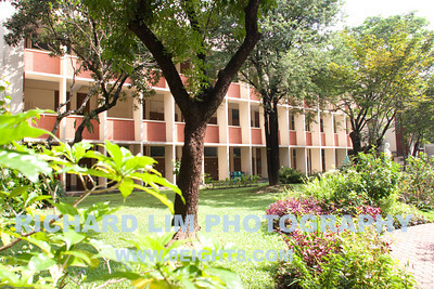 Different view of Berchmans Hall, which housed the Business Management and Management Engineering College in those days.