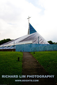 The Church of the Gesu is a new addition to the campus.