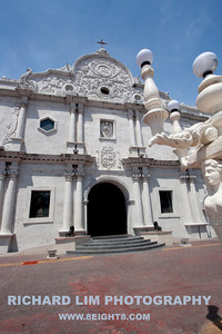 Facade of the Cebu Metropolitan Cathedral.