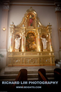 Cebu Metropolitan Cathedral side altar.