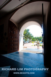 Main entrance into the Cathedral.