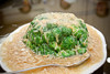 Broccoli with shredded scallops