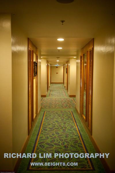 Resort Hallway.