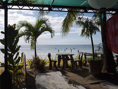 breakfast view at Dumaluan Beach Resort