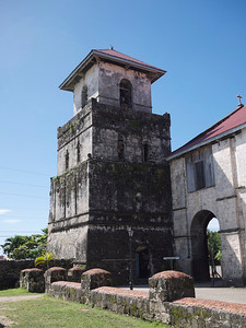 Baclayon church bell tower.