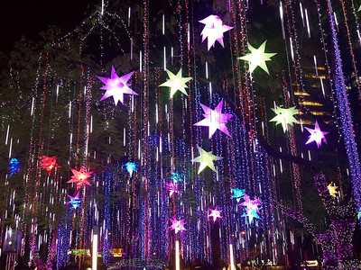 Symphony of Parols at the Ayala Triangle Gardens