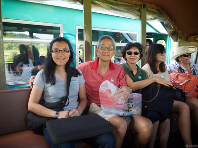 riding in jeepney