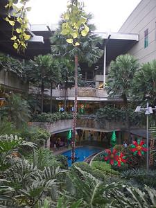 outside courtyard of TriNoMa