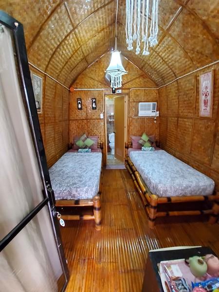 A Balinese garden hut.