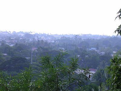 Overlooking the city near City hall, Iligan city