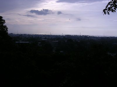 Overlooking the city near City hall, Iligan city