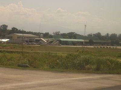 CGY Cagayan airport, Cagayan De Oro, Philippines November 2004
