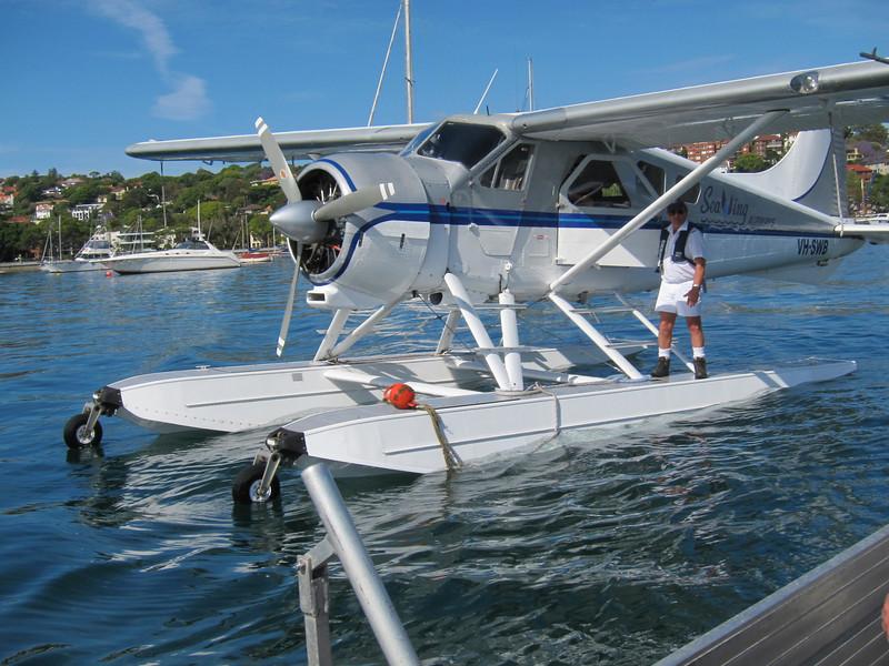 Seaplane trip to Palm Beach