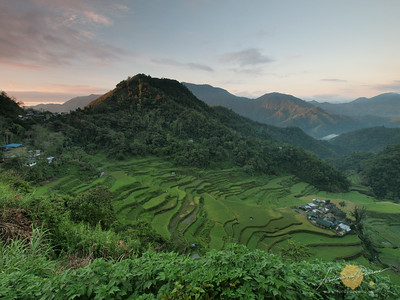 Bangaan, Rice Terraces