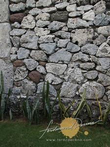 Sabtang Island Stone House Wall