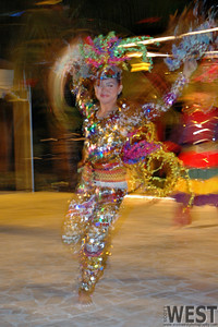 Dancer at Plantation Bay Resort.