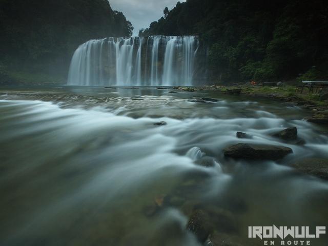 Tinuy-an Falls early evening