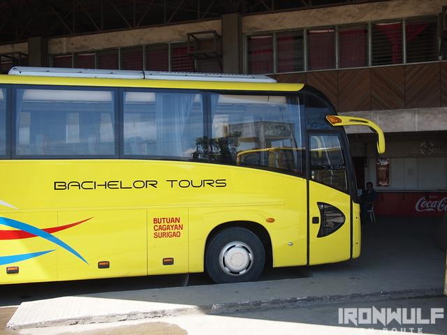The aircondition buses to Surigao and Cagayan de Oro