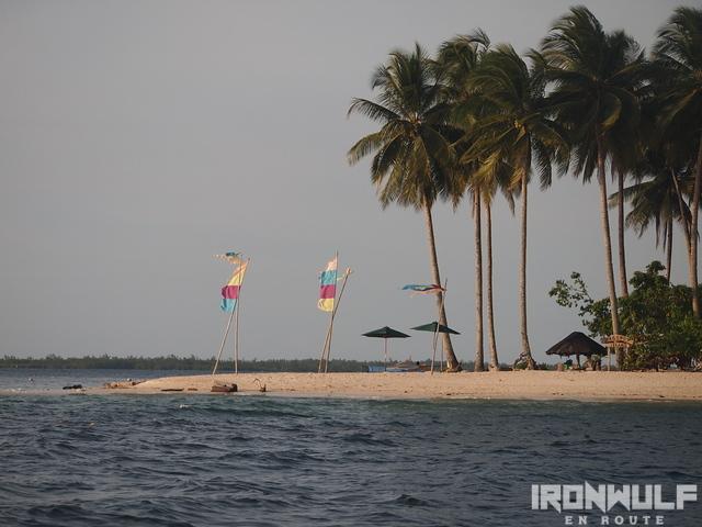 Beachcomber's hangout at Hagonoy Island
