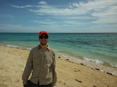 Stephen at Carbin Reef
