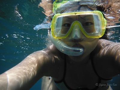 Juno underwater
