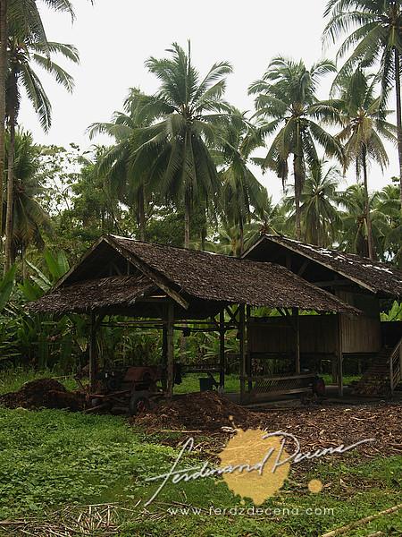 A hut where the process the fertilizers