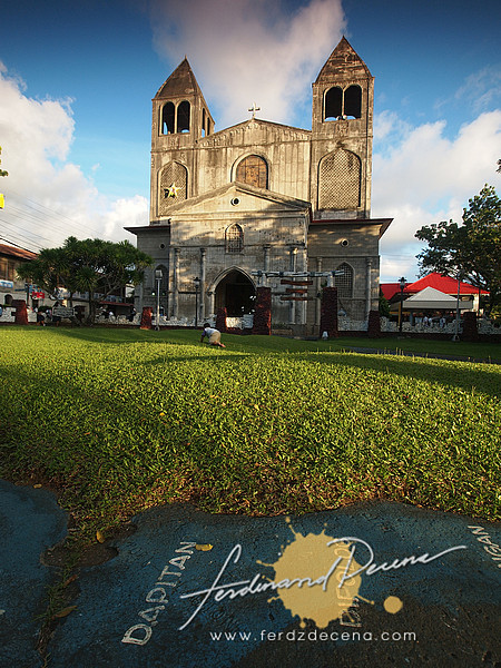 The St James Church with the Map foreground Rizal helped make