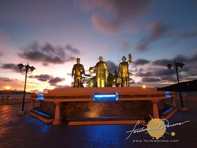 Sta Cruz Beach, Rizal Landing Site