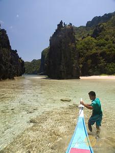 Hidden Beach, Matinloc Island