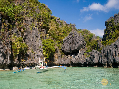 Miniloc Island, Small Lagoon