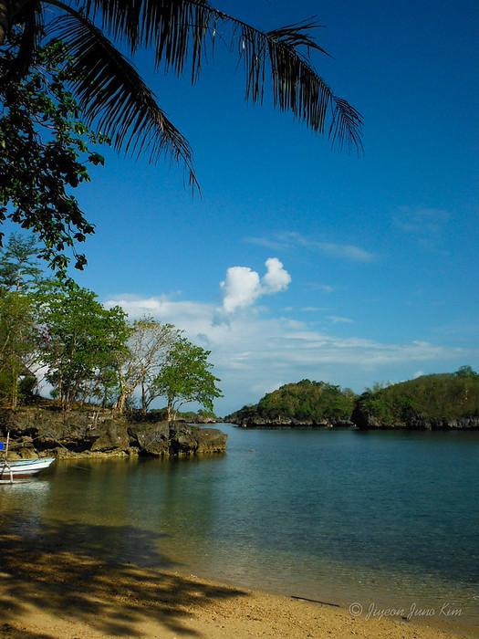 Private beach at Baras Beach Resort