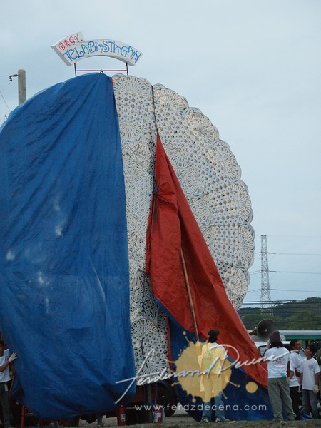 Unveiling of the Giant Lantern