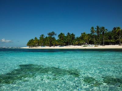 Malapascua Island from afar