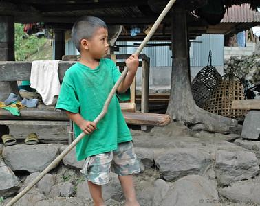 The fearless Ifugao chief.