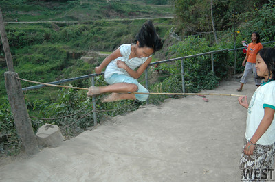 Jumping game, Banaue