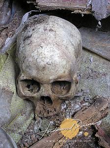 Burial Cave Coffins