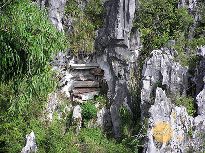 Limestone Cliffs and Coffins