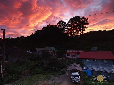 Sagada Morning Sky
