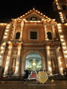 San Agustin Church Simbang Gabi